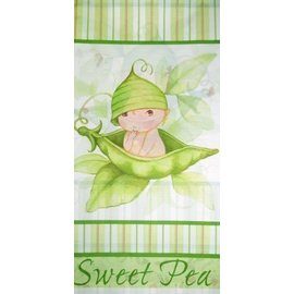 Tablecover-Rectangle-Sweet Pea-54''x108''-Plastic - Discontinued