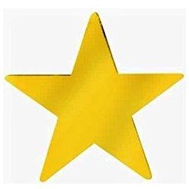 "Cutouts-Gold Stars-9""-Foil"