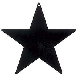 Cutouts-Star-Black-5''-Foil