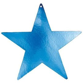 Cutouts-Star-Blue-9''-Foil