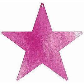 Cutouts-Star-Magenta-15''-Foil