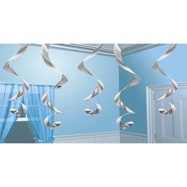 Streamin Swirls-Silver-5pk