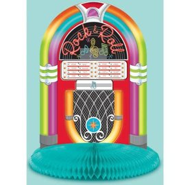 Centerpiece- Jukebox- 50's Rock & Roll-9.5''