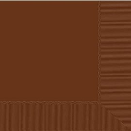 Napkins-BEV-Chocolate Brown-50pkg-2PLY