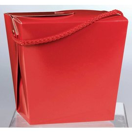 Paper Pail-Red/Large
