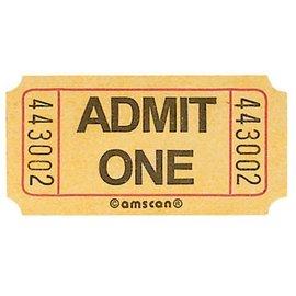 Ticket Roll-Admit One-2000 ticket