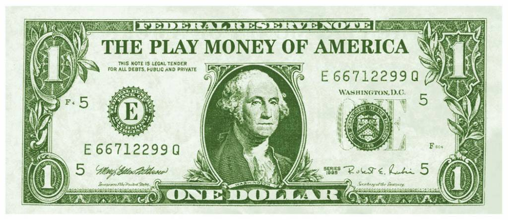 Fake Money Casino 100pk Victoria Party Store