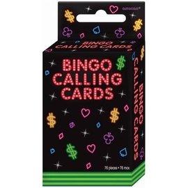 Bingo Calling Cards-76pk-3.5''x2.25''