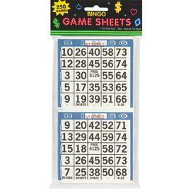 Bingo Game Sheets - Casino