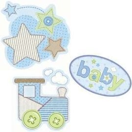 Cutouts-Carters Baby Boy-3pk