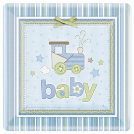 Plates DN-Carter's Baby Boy-8pk-Paper - Discontinued
