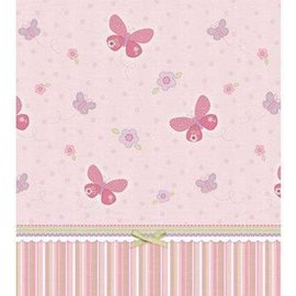 Table Cover-Carter's Baby Girl-Plastic-54'' x 102''