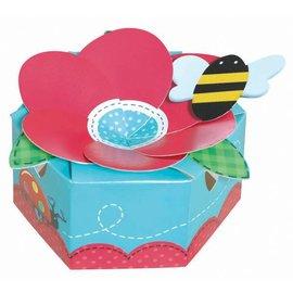 Favor Box-Garden Girl-6pk (Discontinued)