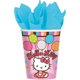 Cups-Hello Kitty-Paper-9oz-8pk