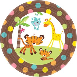 Plates BEV-Fisher Price Baby-8pk-Paper - Discontinued