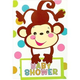 Invitations-Fisher Price-Baby Shower-8pk