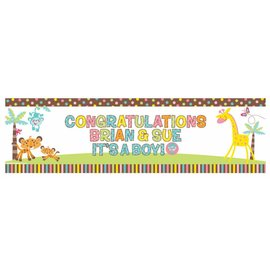Banner Kit-Fisher Price baby-Plastic-65'' x 20''