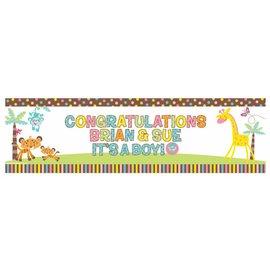 Banner Kit-Fisher Price baby-Plastic-65'' x 20''