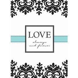 Invitations- Always & Forever-8pk