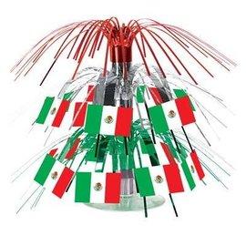 Centerpiece-Mini Cascade-Mexican Flag-1pkg-7.5''