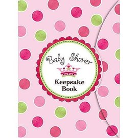 Keepsake Book-Baby Shower-Pink