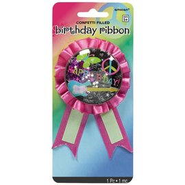 Ribbon-Neon Birthday-5.5''