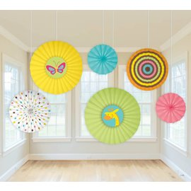 Fans Decorations-Fisher Price Baby-6pk