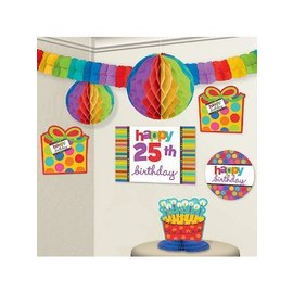 Room Decor Kit-Bday Dots & Stripes-Add an age