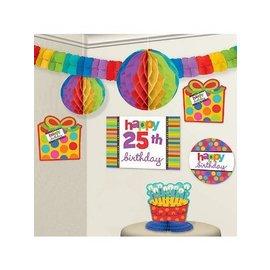 Room Decor Kit-Bday Dots & Stripes-Add an age