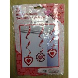 Danglers-Inflatable Swirls-Valentine-Hearts-3pk