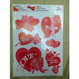 Windows Stickers-Valentine's Day-Hearts