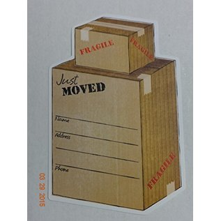 Announcements-Just Moved-10pk/6''x4''
