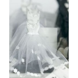 Favor Bags- Mini Bridal Dress- 12pk