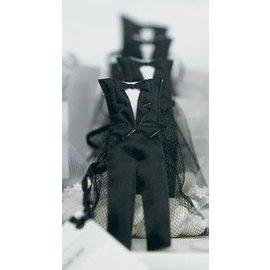 Favor Bags- Mini Groom Tux- 12pk