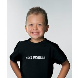 Iron Ons T-Shirt Accessory- Ring Bearer- 1pc