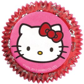 "Baking Cups-Hello Kitty-50pkg-2"""