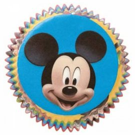 Baking Cups-Mickey Mouse-50pkg-2""