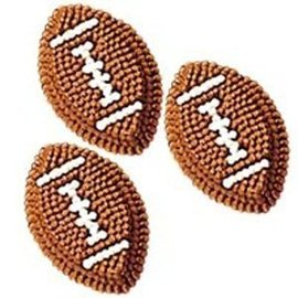 Icing Decorations-Footballs-9pcs-26g