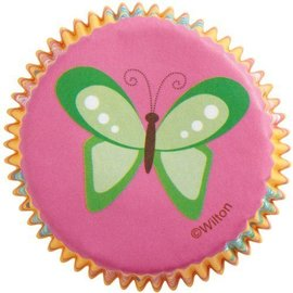 Baking Cups-Butterflies-75pkg-2""