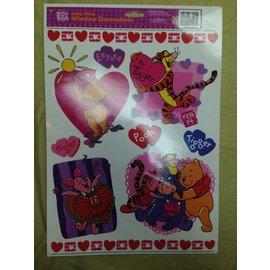 Window Stickers-Valentine-Winnie the Pooh