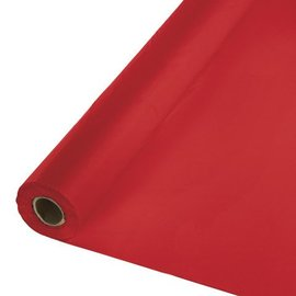 Table Roll-Classic Red-100ft-Plastic