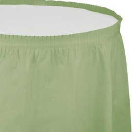 Table Skirt-Sage Green-Plastic - Discontinued