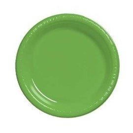 Plates-DN-Citrus Green-20pkg-Plastic