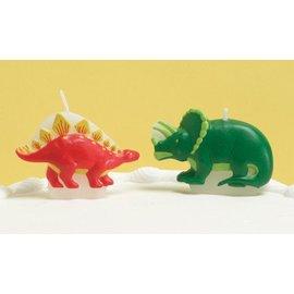 Candles-Fun Dinosaurs-4pkg