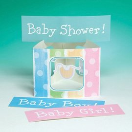 Centerpiece-Accordion-Baby Clothes-1pkg-24""