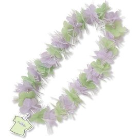 Lei- Mom to be-Purple and green