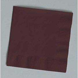 Napkins LN-Chocolate Brown-50pkg-2ply