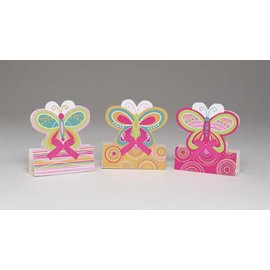 Centerpiece Kit-Mini Mod Butterfly-3pkg-5.5""