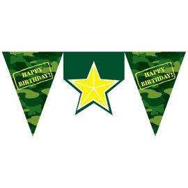 Flag Banner-Plastic-Camouflage-1pkg-11.5ft