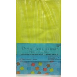 Tablecover-Rectangle-Circles and Squares-Plastic (Discontinued)